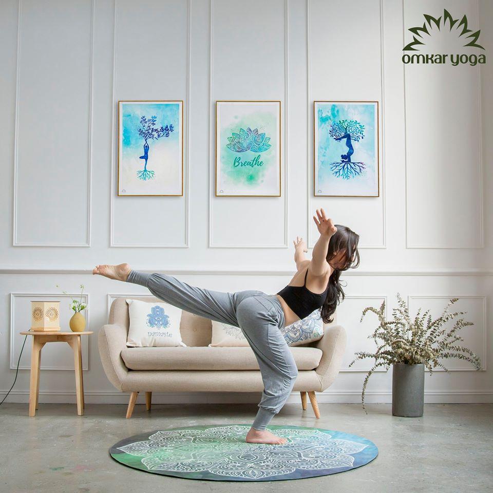 Bí quyết thiết kế phòng Yoga đánh thức mọi giác quan của con người