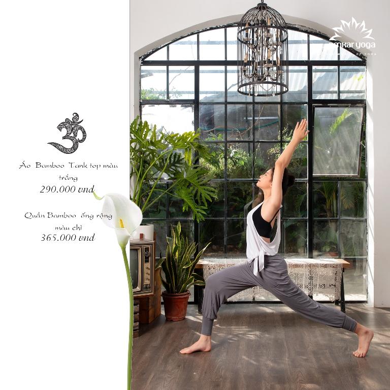 Quần tập Yoga ống rộng bo gấu QD-CG016-L2