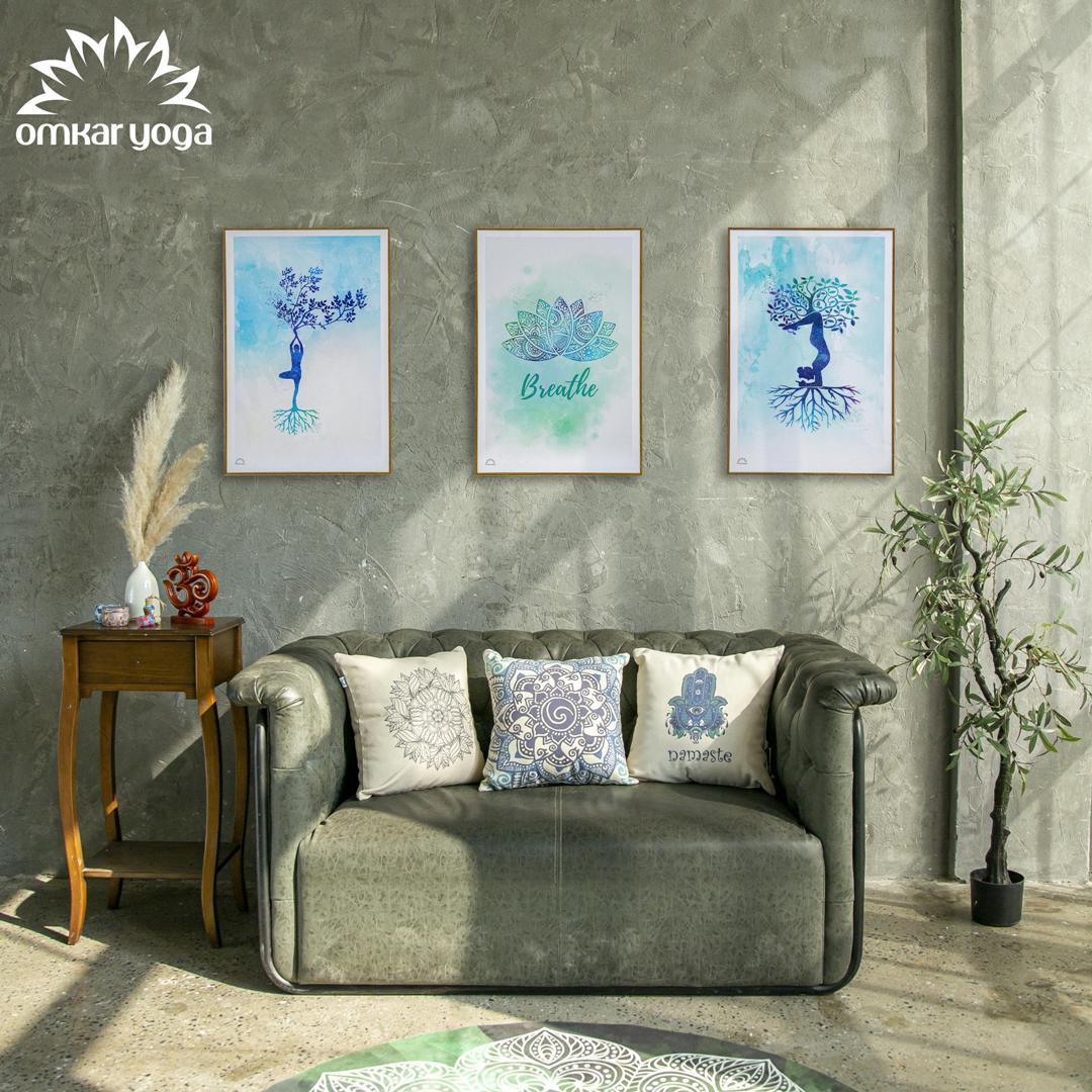 Bộ Tranh Canvas Hơi Thở (bộ 3 tranh)