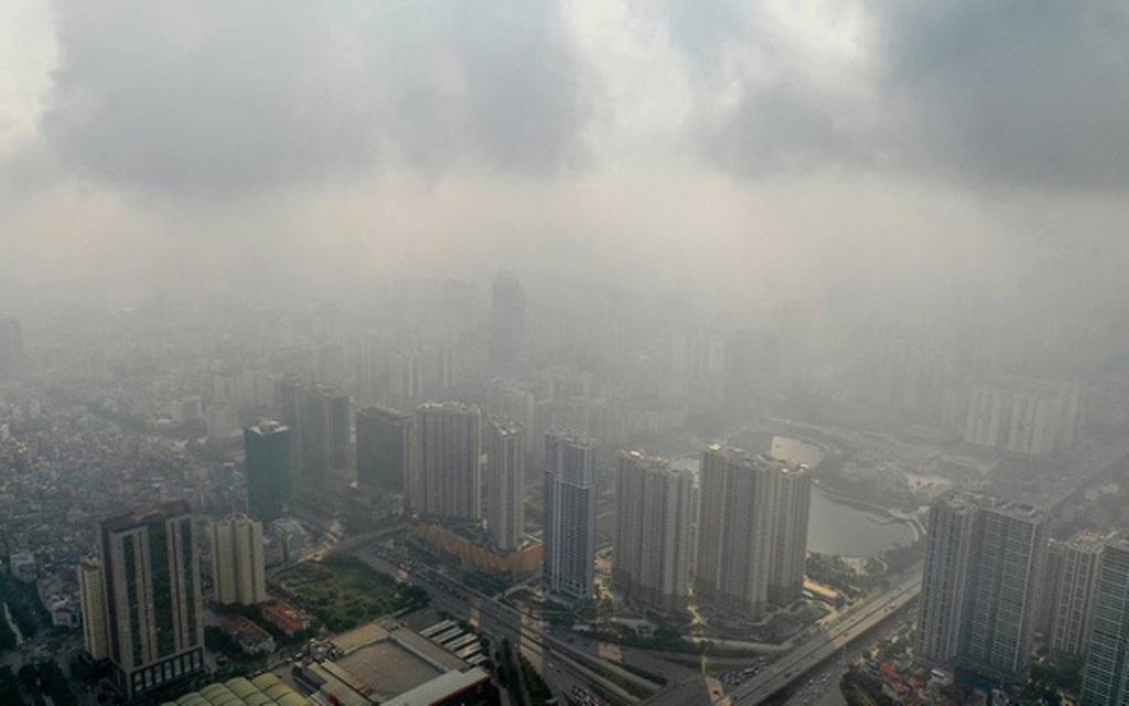 Tình hình ô nhiễm không khí báo động ở Hà Nội