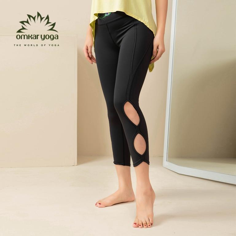 Quần tập Yoga cắt hình oval