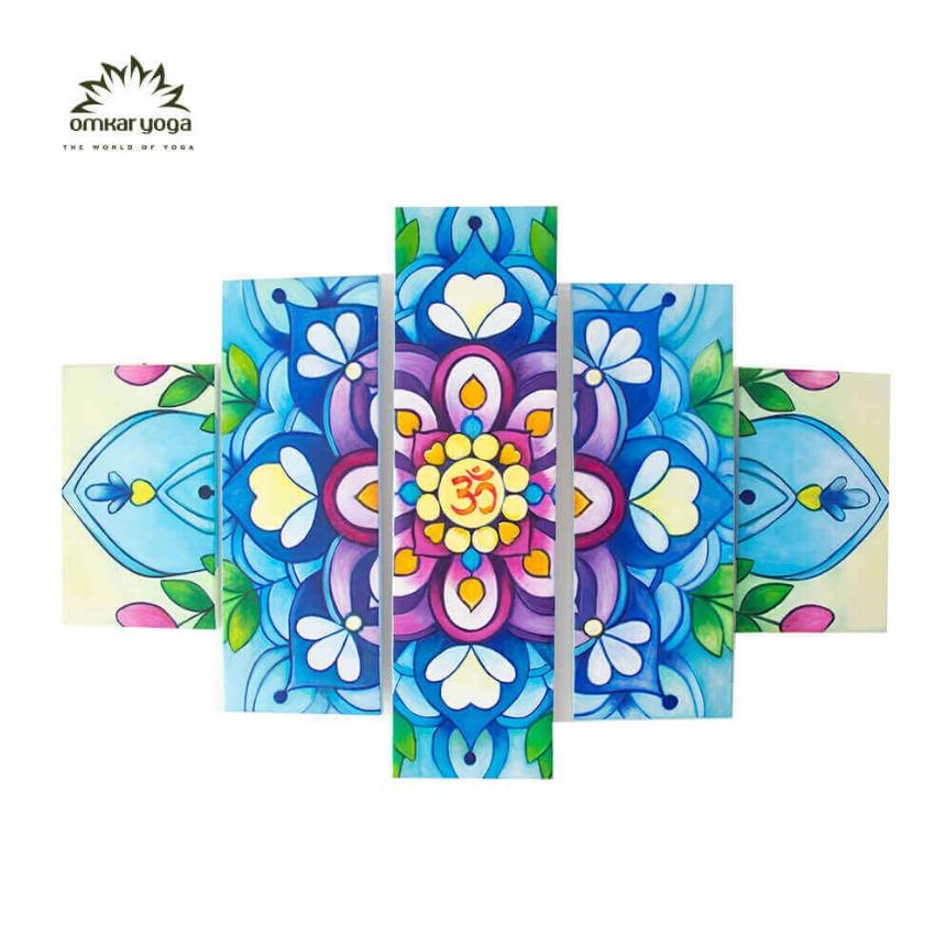 Tranh Yoga Treo Tường Mandala