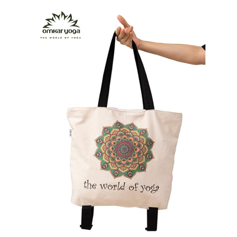 Túi Yoga chuyên dụng họa tiết Mandala phối màu TY-BW005-L1