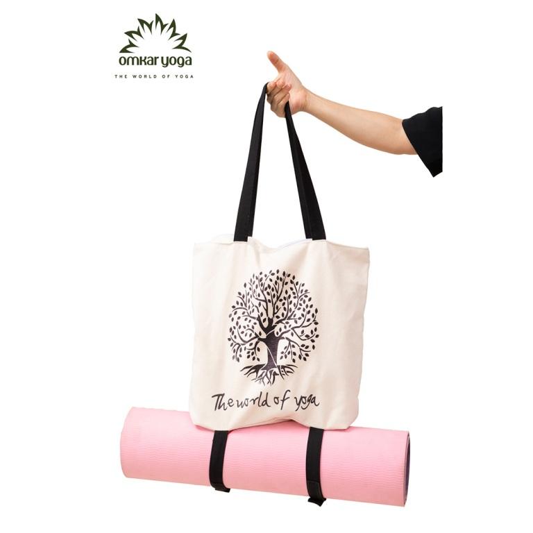 Túi Yoga chuyên dụng họa tiết Tree of life TY-BW013-L1