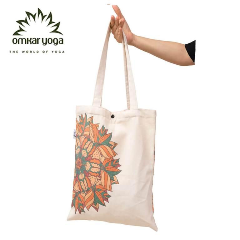 Túi Yoga thời trang họa tiết Mandala phối màu TT-BW010-L1