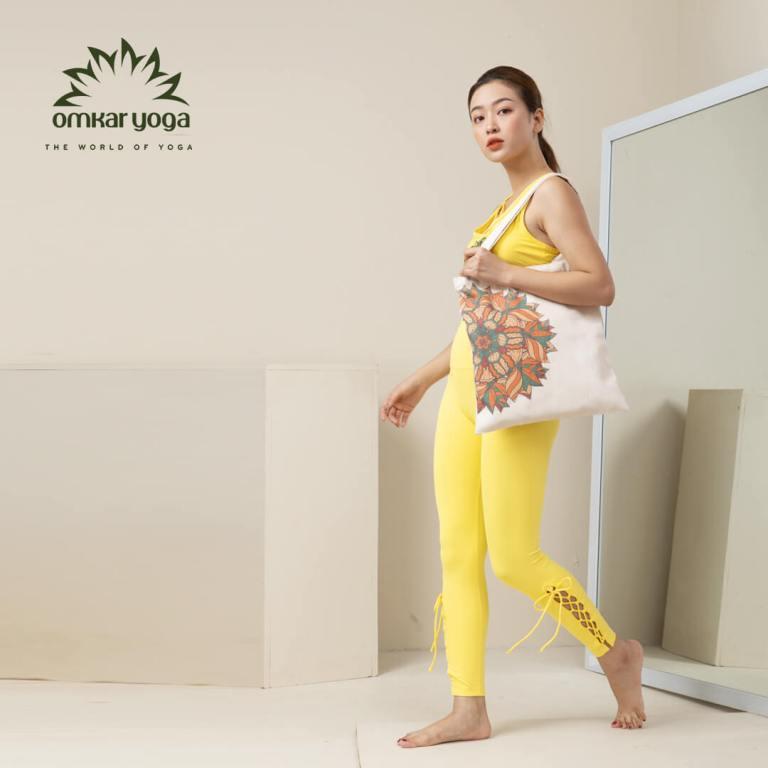 Túi Yoga thời trang tư thế ngồi thiền
