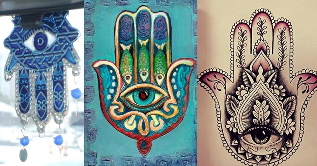 Vén màn những điều kỳ bí đằng sau biểu tượng bàn tay Hamsa